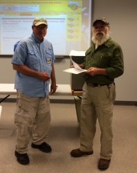 Randy Baldwin receives Journeyman Beekeeper Certification April 9, 2015